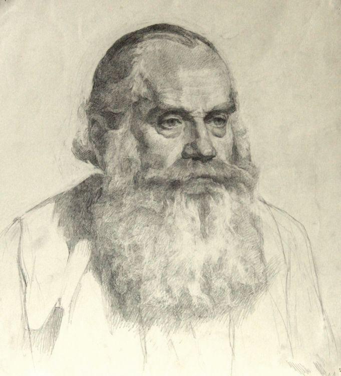 Тарас Бочаров, Екатерина Комракова. Мужской портрет.