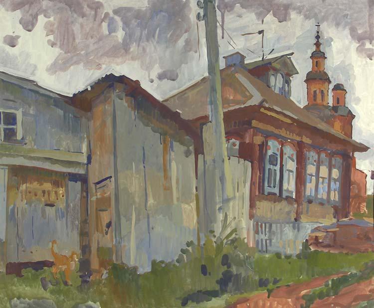 Тарас Бочаров, Екатерина Комракова. Улица в Истобенске.