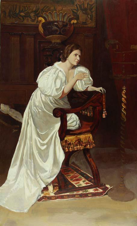 Тарас Бочаров, Екатерина Комракова. Портрет жены художника.