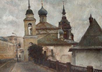 Тарас Бочаров, Екатерина Комракова. Московский пейзаж.