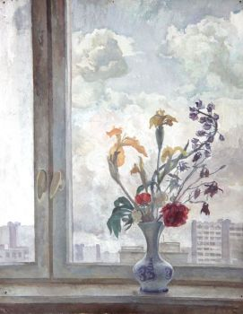 Тарас Бочаров, Екатерина Комракова. На окне.
