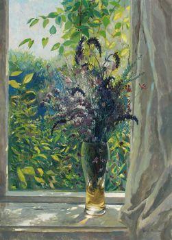 Тарас Бочаров, Екатерина Комракова. Крым. Букет на окне.