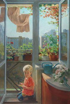 Тарас Бочаров, Екатерина Комракова. Мой балкон