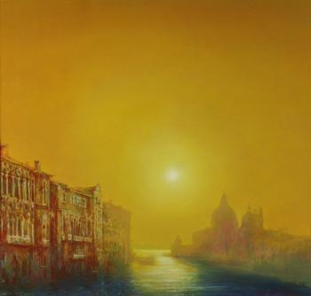 Тарас Бочаров, Екатерина Комракова. Венеция. Санта-Мария делла Салюте.