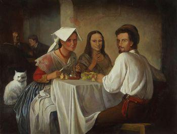 Тарас Бочаров, Екатерина Комракова. Ужин. Семейный портрет.