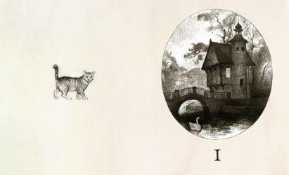 Тарас Бочаров, Екатерина Комракова. Шмуцтитул к первому тому «Житейских воззрений кота Мурра»