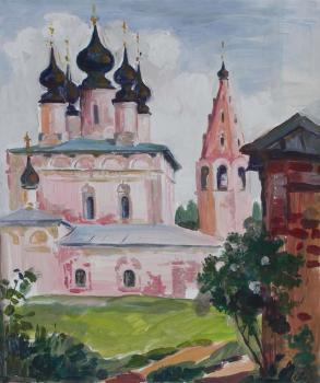 Тарас Бочаров, Екатерина Комракова. Суздаль. Церковь.